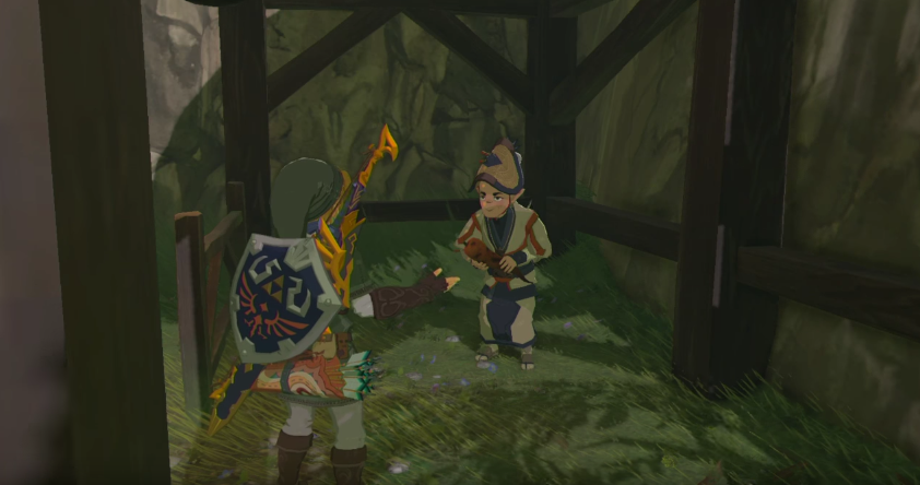 The stolen jewel【Shrine Challenge 30|The Legend of Zelda Breath of the Wild】