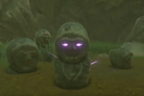 Cursed stone statue【Shrine Challenge 31|The Legend of Zelda Breath of the Wild】