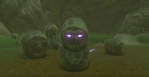 Cursed stone statue【Shrine Challenge 31 The Legend of Zelda Breath of the Wild】