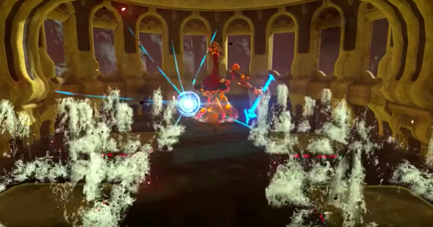 Boss Battle: Water Curse Gunnon【The Legend of Zelda Breath of the Wild】