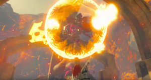 Boss: Flame of the curse gunnon【The Legend of Zelda Breath of the Wild】
