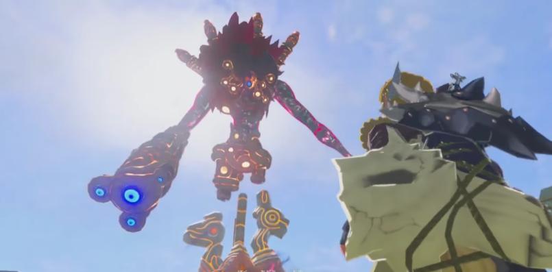 Boss: The wind curse gunnon【The Legend of Zelda Breath of the Wild】